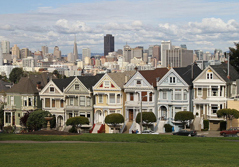 Painted ladies Houses makecnc