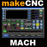 MACH 3 motor control software