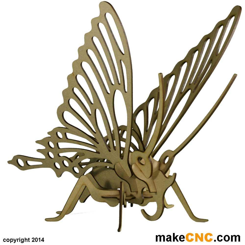 how to make a model of butterfly