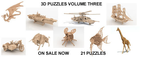 3D PUZZLES VOLUME THREE