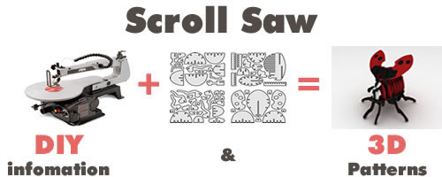 Scroll Saw Patterns 3d Puzzle