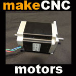 Pre wired stepper motors