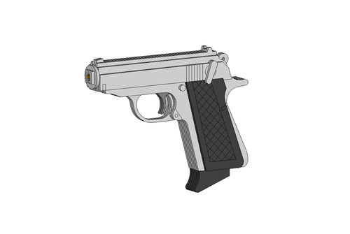 007 Walther Ppks Rubberband Powered Gun Rubberband