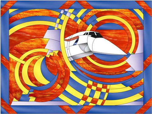 Air Art Deco (GBA) - Flight | MakeCNC.com