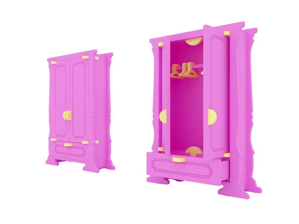 barbie wardrobe cabinet barbie scale size barbie scale