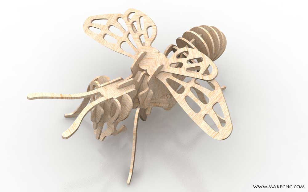 Buzzy Bee Insects Makecnc Com