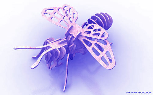 The Bee Plasma Insects Plasma Makecnc Com
