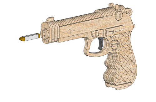 Rubber Band Guns Patterns