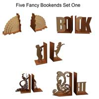 Fancy Bookends Set One