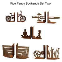 Fancy Bookends Set Two