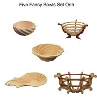 Fancy Bowls Set One