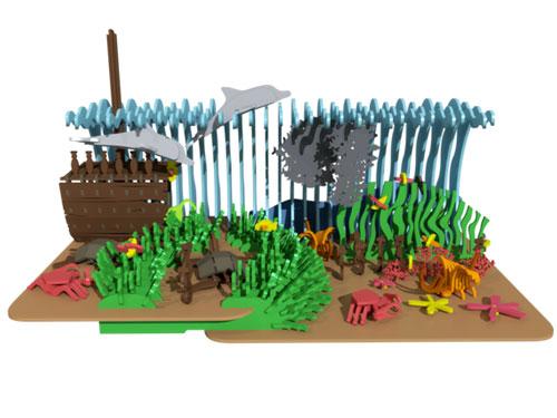 3 The Coral Reef (Premium Model)