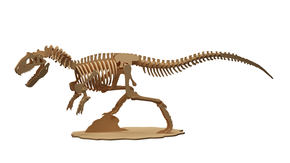 CDR Plan For CNC EPS Laser Cutting Files Dinosaur T-rex  DXF PDF