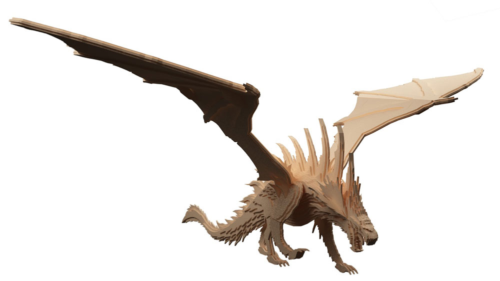 Draco the Welsh Dragon - Mythical | MakeCNC.com