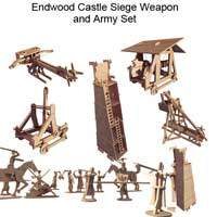 Endwood Castle Siege Set with Army