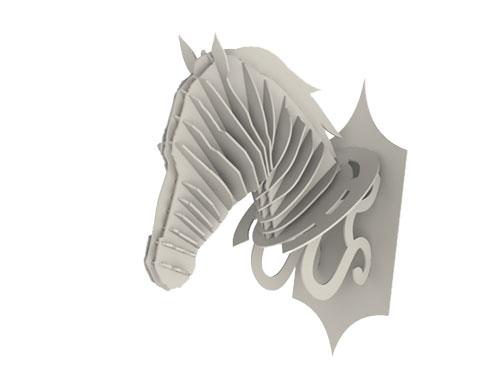 Faux Horse Head