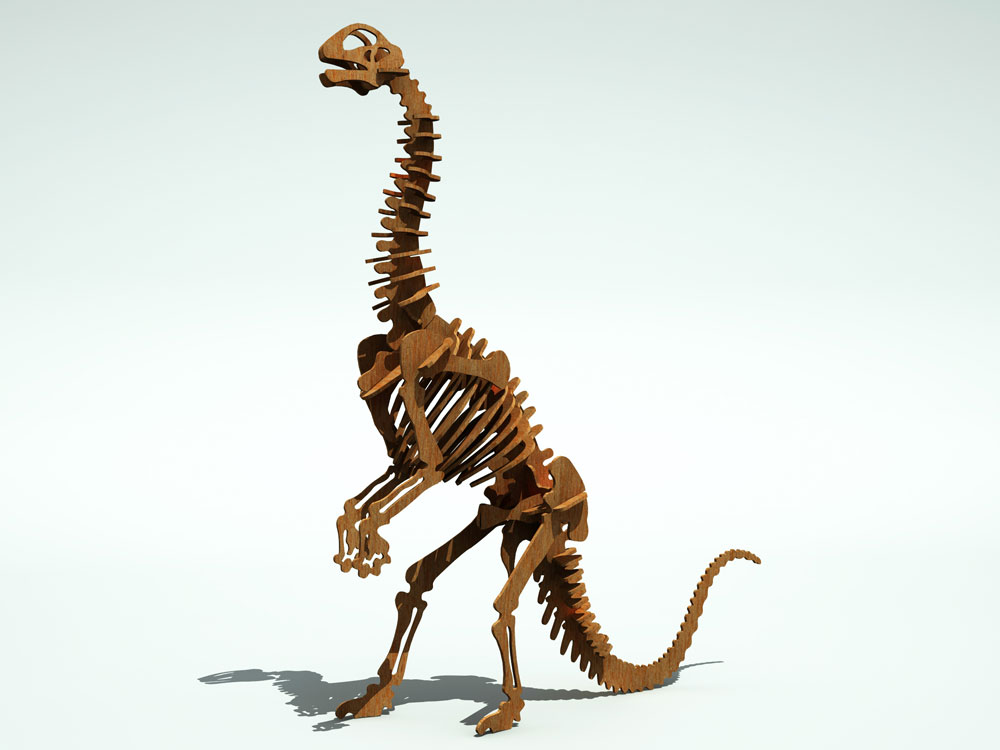 Jobaria Dinousaur Dinosaurs Makecnc Com