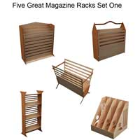 Great Magazine Racks Set One
