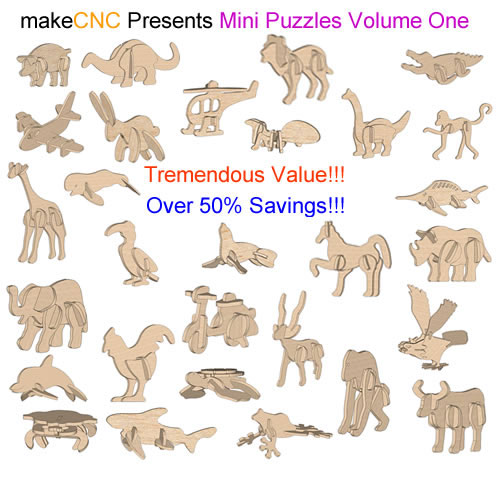 Mini Puzzles Volume One