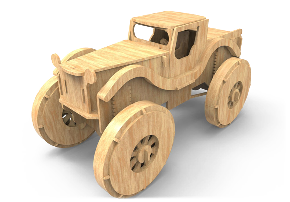 Old Fashioned Monster Truck - Monster Trucks | MakeCNC.com