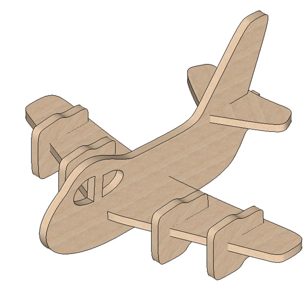 Plane Mini Puzzle