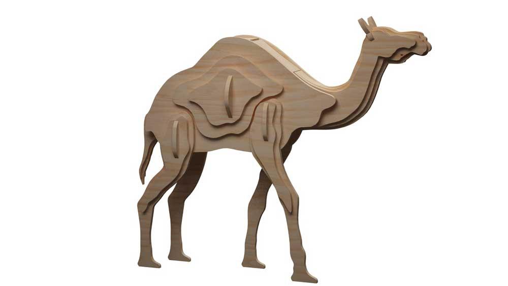 The Single Hump Camel Wild Makecnc Com