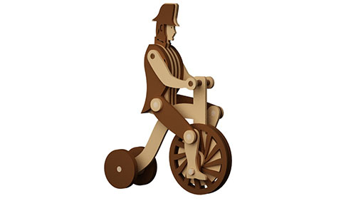 The Pedaling Cyclist- Automata