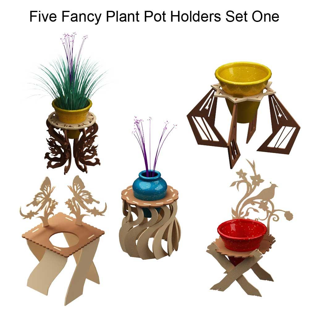 Fancy Plant Potholders Set One Pot Holders Makecnccom