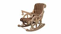 Wheel Rocker - Rocking Chair