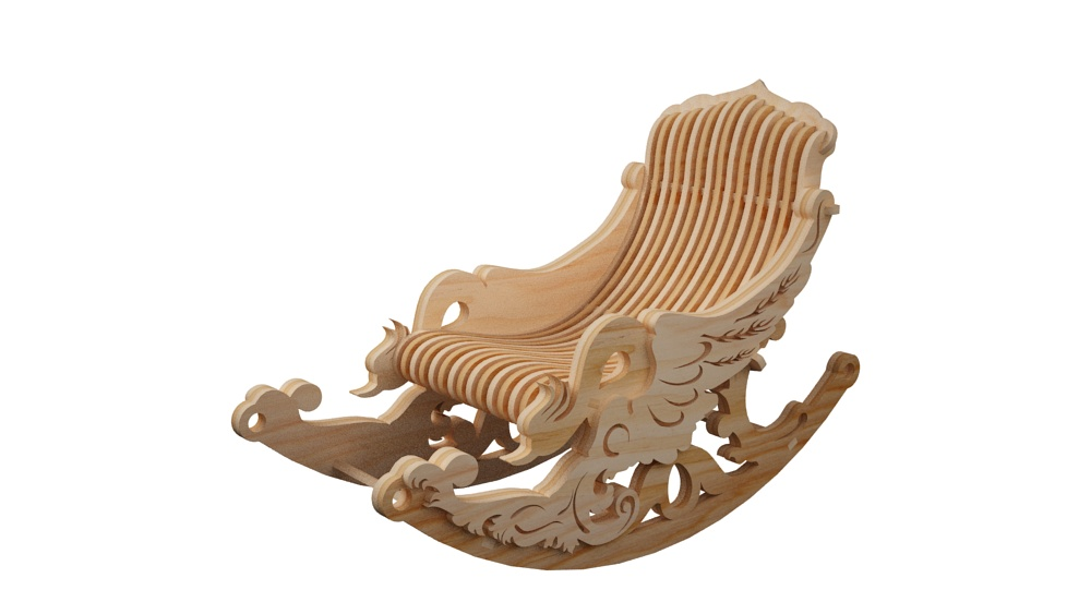 Space Glider Rocker Rocking Chair Furniture Makecnc Com