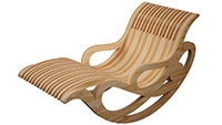 Lawn Rocker - Rocking Chair