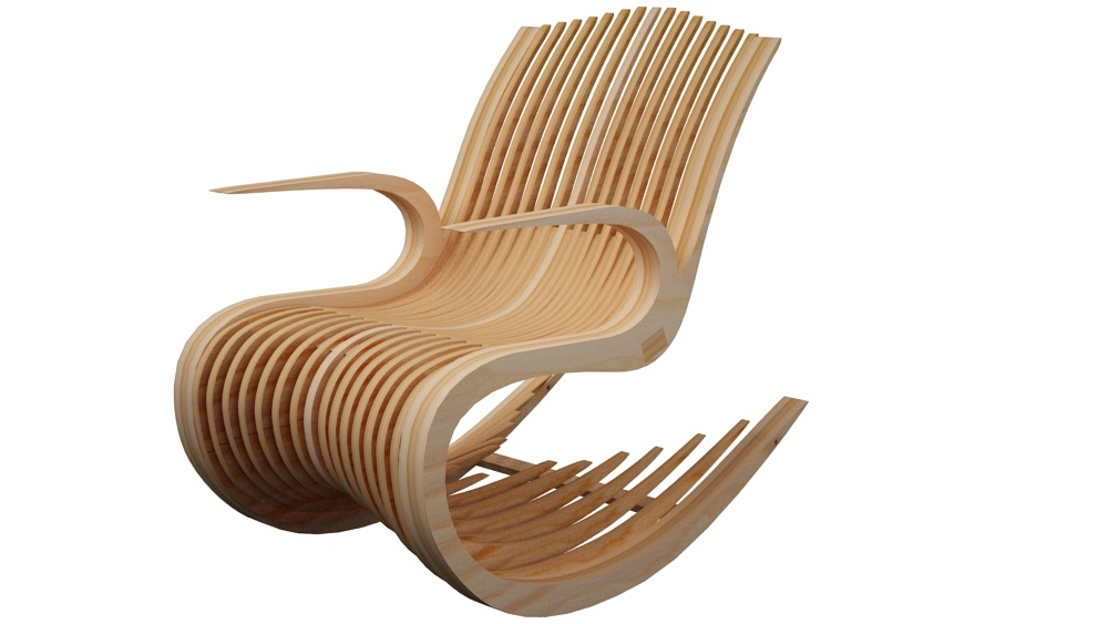 Fanny Rocker Rocking Chair Furniture Makecnc Com