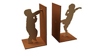 Children at Play  Bookends