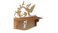 Partridge Deco Shelf