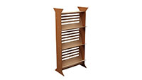 Three Tier Magazine Rack