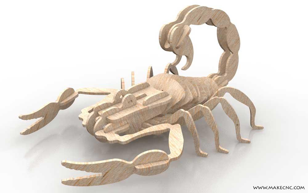Agile Scorpion Insects Makecnc Com