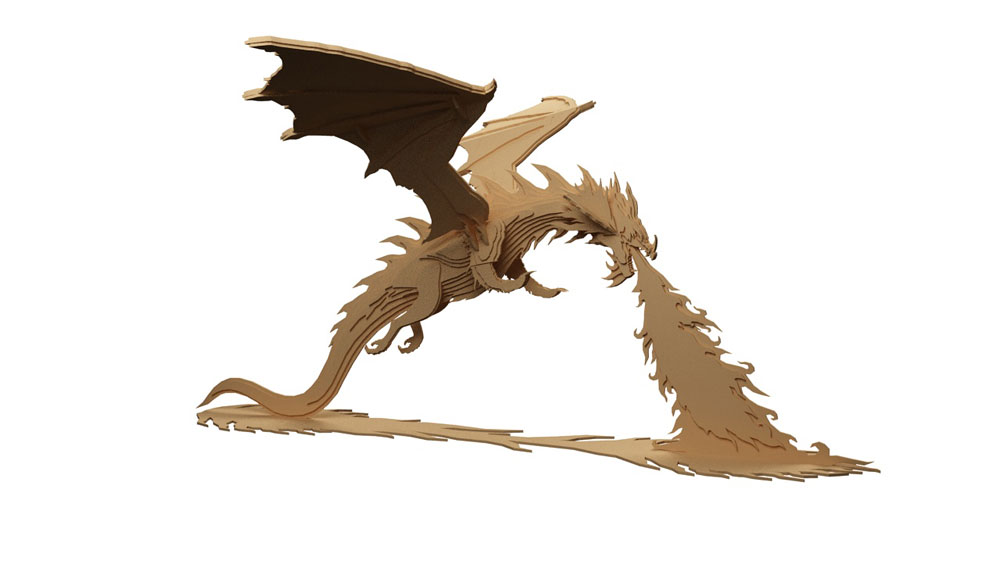 Smaug The Magnificent Hobbit Dragon Of Erebor Mythical