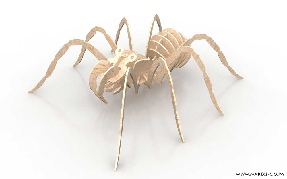 Amazing Spider - Insects   MakeCNC.com