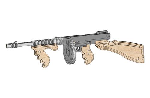 rubber band machine gun for sale
