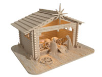 Christmas Nativity Scene (Premium Model)