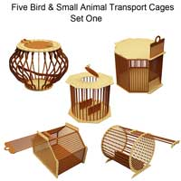 Bird & Small Animal Transport Cages Set One