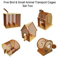 Bird & Small Animal Transport Cages Set Two