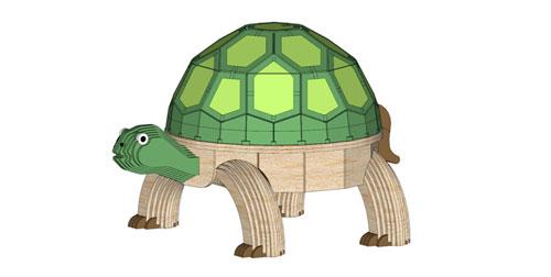 Turtle Garden Stool