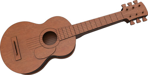 Acoustic Guitar - Musical Instrument