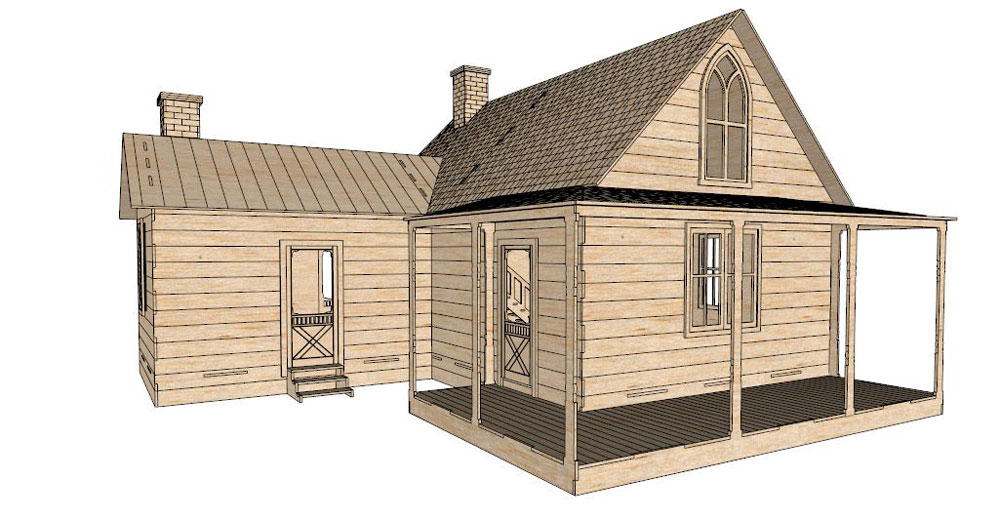 American Gothic House Film Amp Tv Makecnc Com