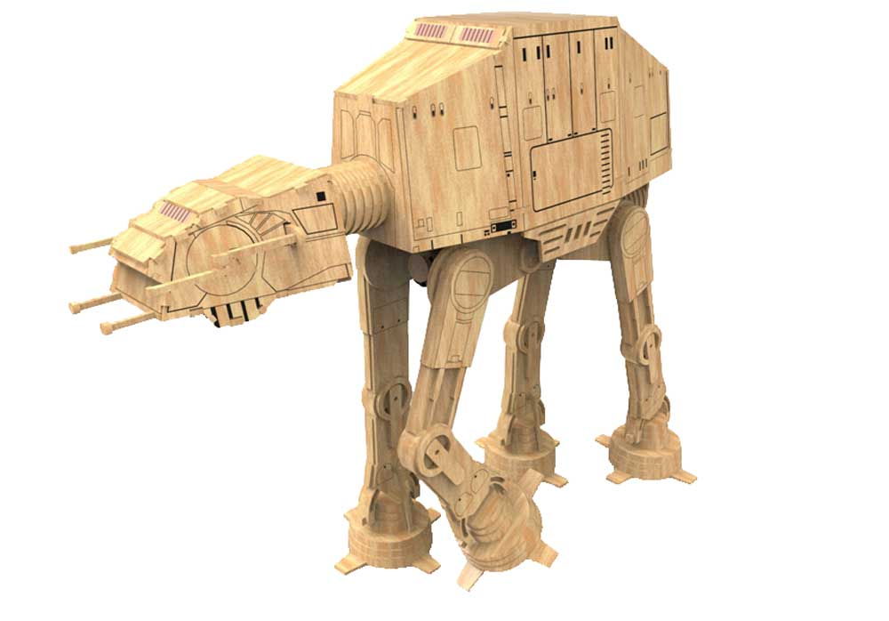AT-AT Walker - Star Wars Inspired - Science Fiction ...