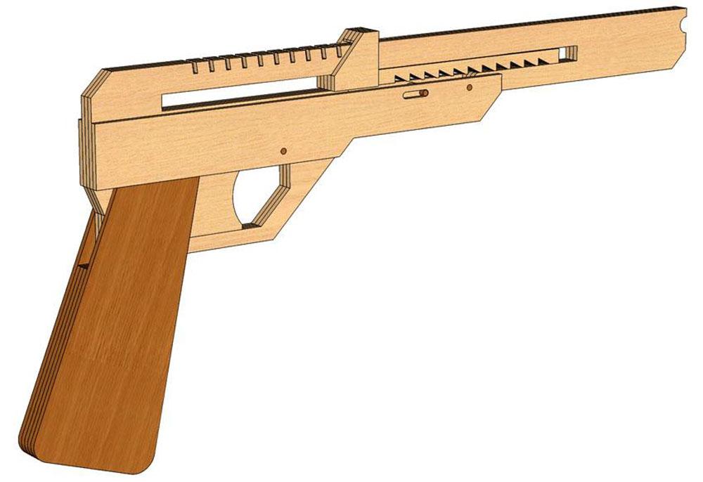 Baby face Nelson (Rubberband Gun) - Rubberband Guns ...