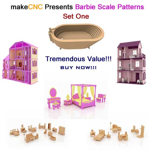 Barbie Scale Patterns Set One
