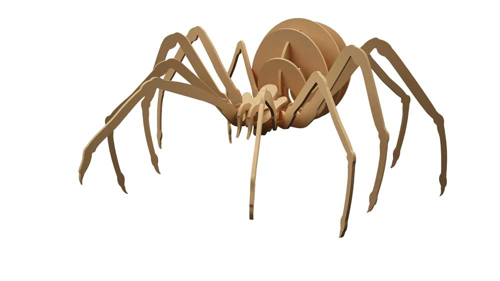 Black Widow Spider - Insects | MakeCNC.com