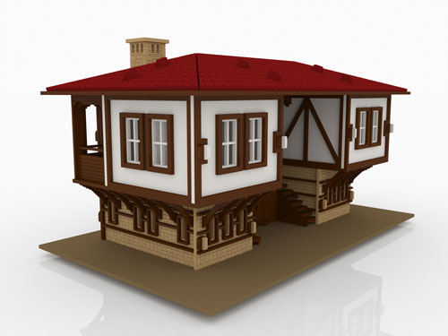 Bulgarian or Balkan Style Doll House